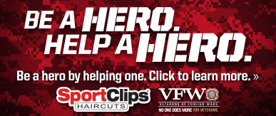 Sport Clips Haircuts of Lake Worth​ Help a Hero Campaign